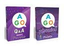 送料無料!【AGO Q&A パープル + AGO フォニックス パープル カードゲームハイレベル(Level 4)セット】AGO Q&A Purple + AGO Phonics ..
