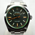 ロレックス / ROLEX: ミルガウス グリーングラス 116400GV 時計 腕時計 メンズ[男性用]【中古】[0824楽天カード分割]