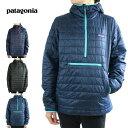 パタゴニア Patagoniaレディース ジャケットW NANO PUFF BIVY P/Oウィメンズ ナノパフ プルオーバーNSTR(ネイビーブルー)BLACK(ブラック)CLASSICNAVY(クラシックネイビー)紺 中綿 ジャケット 撥水