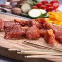 竹串付き味付けポークキューブ 150g (豚串、豚ステーキ丼用、ポークケバブ)豚角切り/BBQや豚丼・サンドイッチにも【YDKG-tk】