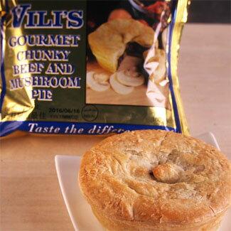 ビーフ&マッシュルームパイ(ステーキパイ)1個入り【オーストラリアVili's/Vili's Gourmet Meat Pie】ミートパイ