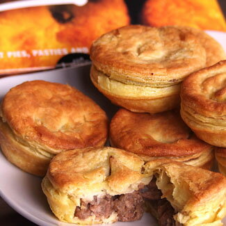 ビーフ&マッシュルームパイ(ステーキパイ) パーティーサイズ16個セット【オーストラリアVili's】ビリーズミートパイ/Vili's Gourmet Meat Pie/パイ包み≪雑誌掲載商品≫ (直輸入品)