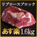 リブロース ブロック 1.6kg/大きなローストビーフ用に最適♪焼肉・厚切りステーキ!オ