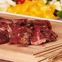 竹串付き味付けラムキューブ150g (羊肉、ラムケバブ)BBQで大活躍!お好きな具材と一緒に串焼きに♪お酒のおつまみにも。【無添加】【YDKG-tk】