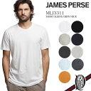 【正規取扱店】JAMES PERSE MLJ3311 半袖クルーネックカットソー 9色 メンズ ベーシック (ジェームスパース MENS BASIC)
