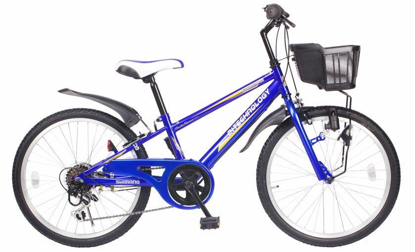 送料無料21Technology21テクノロジーKD22622インチ子供用マウンテンバイクブルー自転