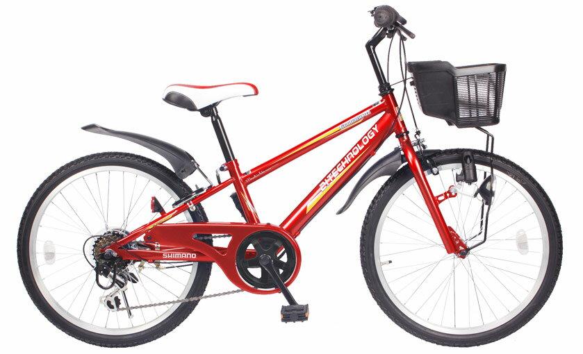 送料無料21Technology21テクノロジーKD22622インチ子供用マウンテンバイクレッド自転