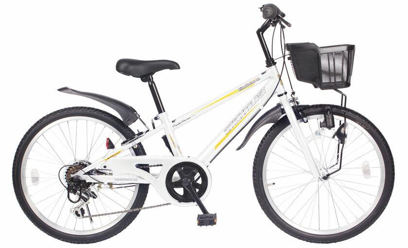送料無料21Technology21テクノロジーKD22622インチ子供用マウンテンバイクホワイト自