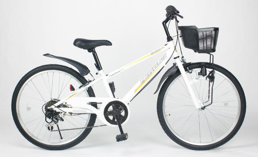 送料無料21Technology21テクノロジーKD24624インチ子供用マウンテンバイクホワイト自