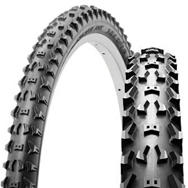SHINKO シンコー SR081 ブロックタイヤ 26×2.00 H/E ブラック 自転車 タイヤ 26インチ