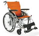軽量 折りたたみ車椅子(車いす) カワムラサイクル製 AYL22-38(40)バネックスシート【メーカー正規保証付き/条件付き送料無料】