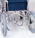 ショッピングリクライニング 車椅子専用オプション(日進医療器専用)リクライニング車用・酸素ボンベ架台KF-20R