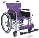 車椅子(車いす) カワムラサイクル製 KA102-40(42)【メーカー正規保証付き/条件付き送料無料】
