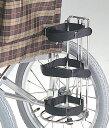 車椅子専用オプション(Miki ミキ専用)酸素ボンベ架MS-134
