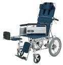 ショッピングリクライニング リクライニング車椅子(車いす) 日進医療器製 NA-118B(介助用車椅子)【メーカー正規保証付き/条件付き送料無料】