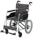 車椅子(車いす) 日進医療器製 NC-2CBハイポリマー【メーカー正規保証付き/条件付き送料無料】