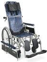 フルリクライニング車椅子(車いす) カワムラサイクル製 RR42NB【メーカー正規保証付き/条件付き送料無料】