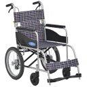 軽量 折りたたみ車椅子(車いす)日進医療器製 ネオ2/NEO-2【メーカー正規保証付き/条件付