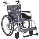 軽量 折りたたみ車椅子(車いす)日進医療器製 ネオ1/N