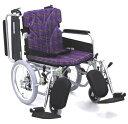 車椅子(車いす) カワムラサイクル製 KA816-40(38.42)ELB-M(LO.SL)【メーカー正規保証付き/条件付き送料無料】