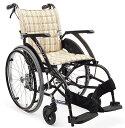 軽量 折りたたみ車椅子(車いす) カワムラサイクル製 WAVIT22! WA22-40S(42S)/WA22-40A(42A)【メーカー正規保証付き/条件付き送料無料】