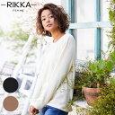 RIKKA FEMME リッカファム R20FW111 レディース 長袖 Tシャツ ロンT HH3 J7