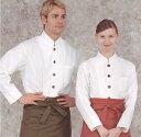 マオカラーシングルボタンシャツ七分袖 カラーサイズ欠けのため...