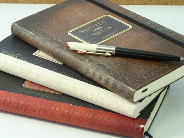 ドイツメーカー「ブルンネン」のノート。