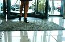 【FLOORTEX 旧デザイン玄関マット 90×120cm:全2色】 【宅配】 フロアテックス SALE オフィス 青 ブルー 黒 ブラック ドイツ 洗える 滑...