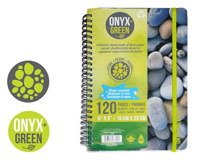 カナダ「ONYX+GREEN」のノート。