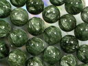 天然石ビーズ セラフィナイト丸玉14mm・1連約40cm28個前後
