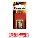 《送料無料》Panasonic LR1XJ/2B パナソニック アルカリ乾電池 単5 (2本入) ブリスター包装 【SJ01885】