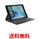 《送料無料》Logicool Ik0772bk ロジクール Bluetooth キーボードケース for iPad mini 4 Ik0772 キーボード一体型 保護ケース ブラック 【SK00800】