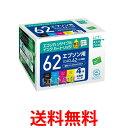 《送料無料》ecorica IC4CL62 ECI-E624P/BOX エコリカ リサイクル インクカートリッジ EPSON 4色 セット (BK/C/M/Y) IC4CL62ECIE624PBOX