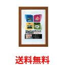 《送料無料》Nakabayashi デジタル プリント フレーム 写真 A4 B5 フ-DPW-A4-BR ブラウン 【SK05430】