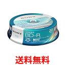 SONY 20BNR1VJPP6 ソニー ビデオ用 ブルーレイディスク BD-R 記録用 25GB 6倍速 20枚パック インクジェット対応 BD BNR1VJPP6 送料無料..