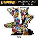 """【日本規格】Loudmouth/ラウドマウス 2016 ヘッドカバー(フェアウェイウッド用) """"Tags""""029 タグス LM-HC0001/FW【新品】ヘッド..."""