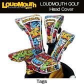 """【日本規格】Loudmouth/ラウドマウス 2016 ヘッドカバー(ドライバー用) """"Tags""""029 タグス LM-HC0001/DR【新品】ヘッドカバー/メンズ/レディース/子供用子ども用こども用"""