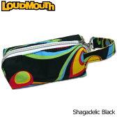 【日本規格】2016 Loudmouth(ラウドマウス) ボールホルダー (020)Shagadelic Black シャガデリックブラック 726113【新品】ボールケースポーチボール入れバッグメンズ/レディース/子供用子ども用こども用