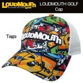 """【Sale】【日本規格】Loudmouth(ラウドマウス) 2016 Cap(Hat) """"(029)Tags"""" ラウドマウス メッシュキャップ(ハット) """"タグス"""" 726105【新品】ゴルフウェア帽子メンズ/レディース/子供用子ども用こども用"""