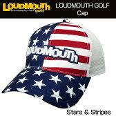 """【Sale】【日本規格】Loudmouth(ラウドマウス) 2016 Cap(Hat) """"(039)Stars & Stripes"""" ラウドマウス メッシュキャップ(ハット) """"スターズ&ストライプス"""" 726105【新品】ゴルフウェア帽子メンズ/レディース/子供用子ども用こども用"""