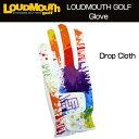 [クーポン有][Sale][日本規格]2016 Loudmouth(ラウドマウス) メンズグローブ (001)Drop Cloth ドロップクロス 726111[新品]