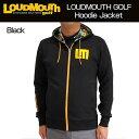 【日本規格】Loudmouth(ラウドマウス) 2016 長袖 フルジップ スウェットパーカー (998)Black 726504 メンズ 【新品】16FW男性...