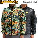 【日本規格】Loudmouth(ラウドマウス) 2016 長袖リバーシブルブルゾン (020)Shagadelic Black シャガデリックブラック メンズ ...