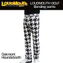 [クーポン有][防寒][日本規格]Loudmouth(ラウドマウス) 2016 ボンディングロングパンツ (002)Oakmont Houndstooth オークモント メンズ 726515 [新品]16FW ゴルフウェア長ズボンボトムス[TW10]
