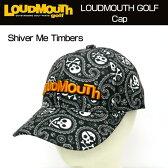 【日本規格】Loudmouth(ラウドマウス) 2016 キャップ (015)Shiver Me Timbers シヴァーミーティンバーズ 726601 【新品】16FWゴルフウェア帽子メンズ/レディース/子供用子ども用こども用