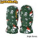 [クーポン有][日本規格]Loudmouth(ラウドマウス) 2016 ミトン (041)Jingle Bones ジングルボーンズ 726605[新品]16F...