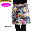 [クーポン有][日本規格][レディース]Loudmouth(ラウドマウス) 2016中綿巻きスカート (032)Party Mix パーティーミックス 7267...