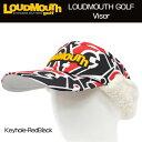 [30%off][防寒][日本規格]ラウドマウス ボアフリースバイザー ロゴ刺繍 (Keyhole-...