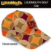 """【Sale】Loudmouth Cap(Hat) """"Havercamps"""" ラウドマウス キャップ(ハット) ハーバーキャンプ 【新品】ゴルフウェア帽子メンズ/レディース/子供用子ども用こども用"""